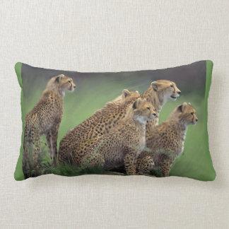 Cojín Lumbar 5 guepardos en África