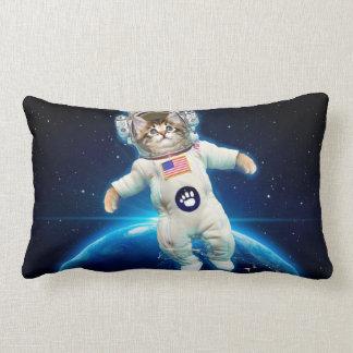 Cojín Lumbar Astronauta del gato - gato del espacio - amante