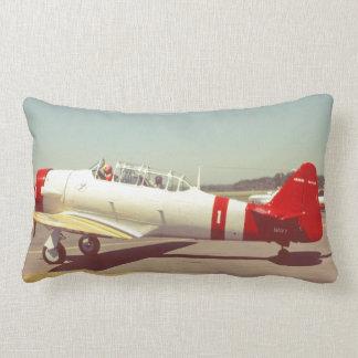 Cojín Lumbar Aviación, aeroplano del propulsor de la marina de
