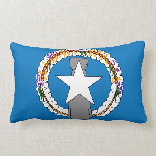 Cojín Lumbar Bandera de Northern Mariana Islands (los E.E.U.U.)