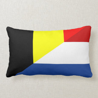 Cojín Lumbar bandera de país de la bandera de Bélgica del