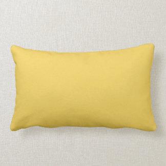 Cojín Lumbar Color amarillo de la primavera