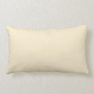 Cojín Lumbar Color (poner crema) blanco del chocolate