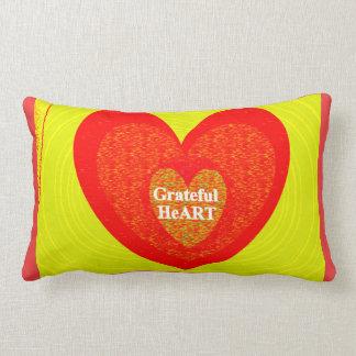 Cojín Lumbar Corazón agradecido