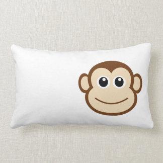 Cojín Lumbar Dibujo animado del mono