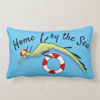 Cojín Lumbar Dragón del mar del salvavidas de la resaca