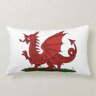 Cojín Lumbar Dragón rojo de País de Gales