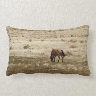 Cojín Lumbar El caballo de trabajo de la vaca del ante pasta