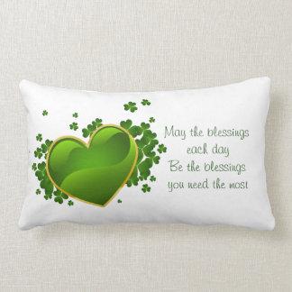 Cojín Lumbar El día Almohada-Mayo lumbar de St Patrick las