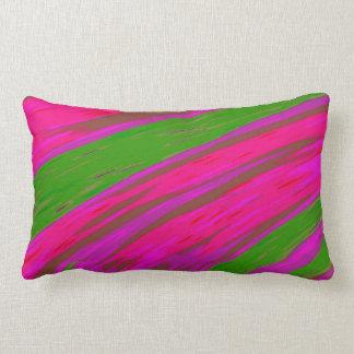 Cojín Lumbar Extracto brillante del chasquido del color rosado