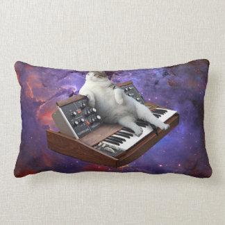 Cojín Lumbar gato del teclado - memes del gato - gato loco