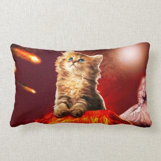 Cojín Lumbar gato del volcán, gato vulcan,