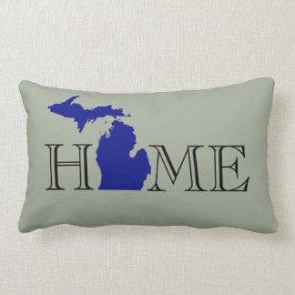 Cojín Lumbar I corazón Michigan