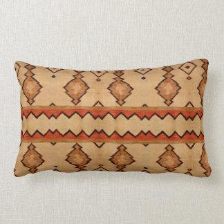 Cojín Lumbar Impresión tejida vintage del diseño de la manta