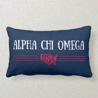 Cojín Lumbar Ji alfa Omega - los E.E.U.U.