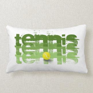 Cojín Lumbar Jugador de tenis, viaje del tenis