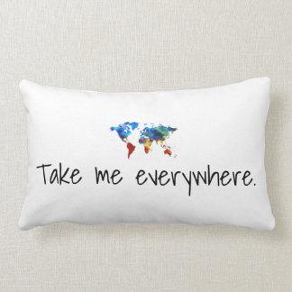 Cojín Lumbar Los chicas globales unidos me toman por todas