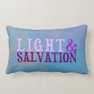 Cojín Lumbar LUZ Y SALVACIÓN cristianas