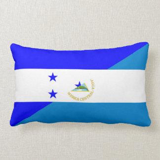 Cojín Lumbar medio símbolo del país de la bandera de Honduras