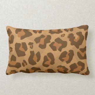 Cojín Lumbar Modelo del puma de Jaguar del puma del guepardo