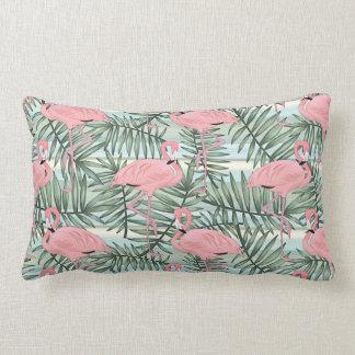Cojín Lumbar Modelo lindo de las hojas de palma de los