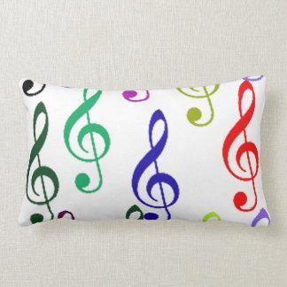 Cojín Lumbar notas de la música