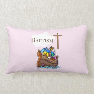 Cojín Lumbar Personalizable, la arca de Noah del bautismo de la