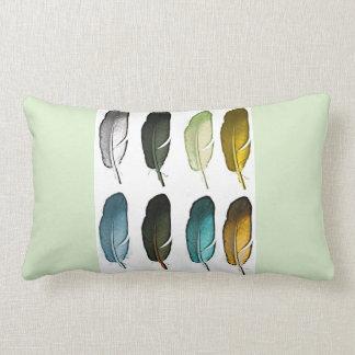 Cojín Lumbar Plumas coloridas