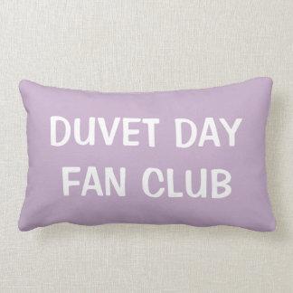 Cojín Lumbar Púrpura pálida del amortiguador lumbar del club de