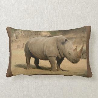 Cojín Lumbar Rinoceronte africano