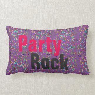 Cojín Lumbar roca del fiesta