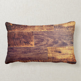Cojín Lumbar suelo de madera