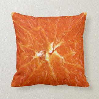Cojín naranja textura