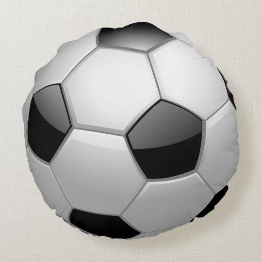 Cojín Redondo Balón de fútbol