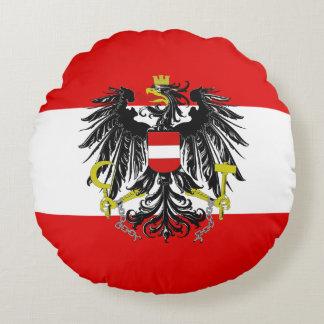 Cojín Redondo Bandera austríaca