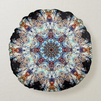 Cojín Redondo Colores del fractal