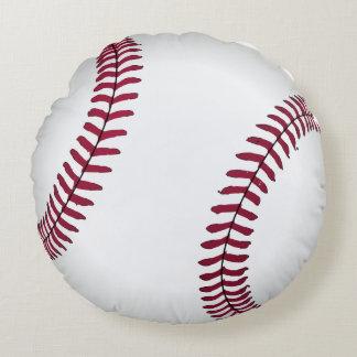 Cojín Redondo El sitio de la cama del béisbol de tiro del