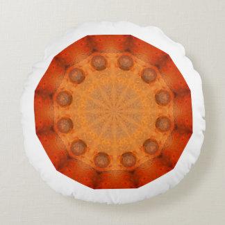 Cojín Redondo Moho-Mandala, colores de Rust_744_R_1.f