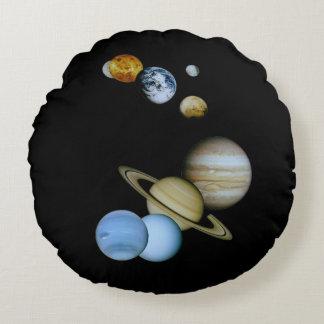 Cojín Redondo Montaje planetario