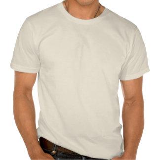 Cola de la ballena gris camiseta