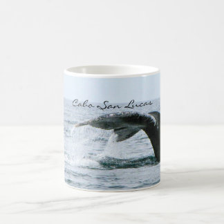 Cola de la ballena jorobada, Cabo San Lucas Taza De Café