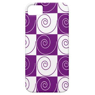 Colas Mousey púrpuras Funda Para iPhone SE/5/5s