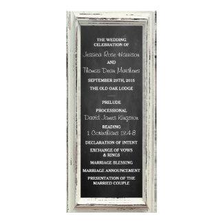 Colección blanca rústica del boda del marco y de lona