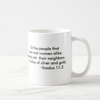 Colección de la crisis de presupuesto taza de café