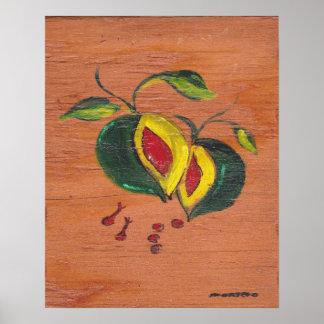 Colección de la decoración de la cocina - fruta póster
