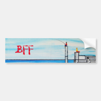 Colección de la dicha de la amistad BFF ©2016 Pegatina Para Coche