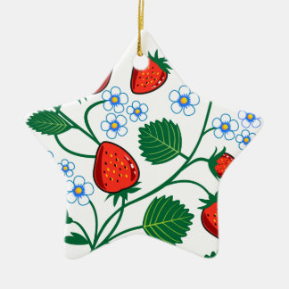 Colección de la fresa de Emma Janeway Adorno Navideño De Cerámica En Forma De Estrella