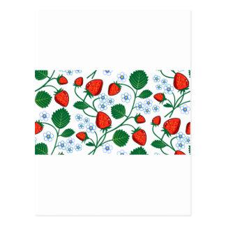 Colección de la fresa de Emma Janeway Postal