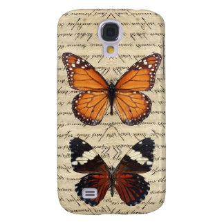 Colección de las mariposas del vintage funda para galaxy s4
