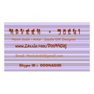 Colección de NAVIN JOSHI Tarjetas De Visita